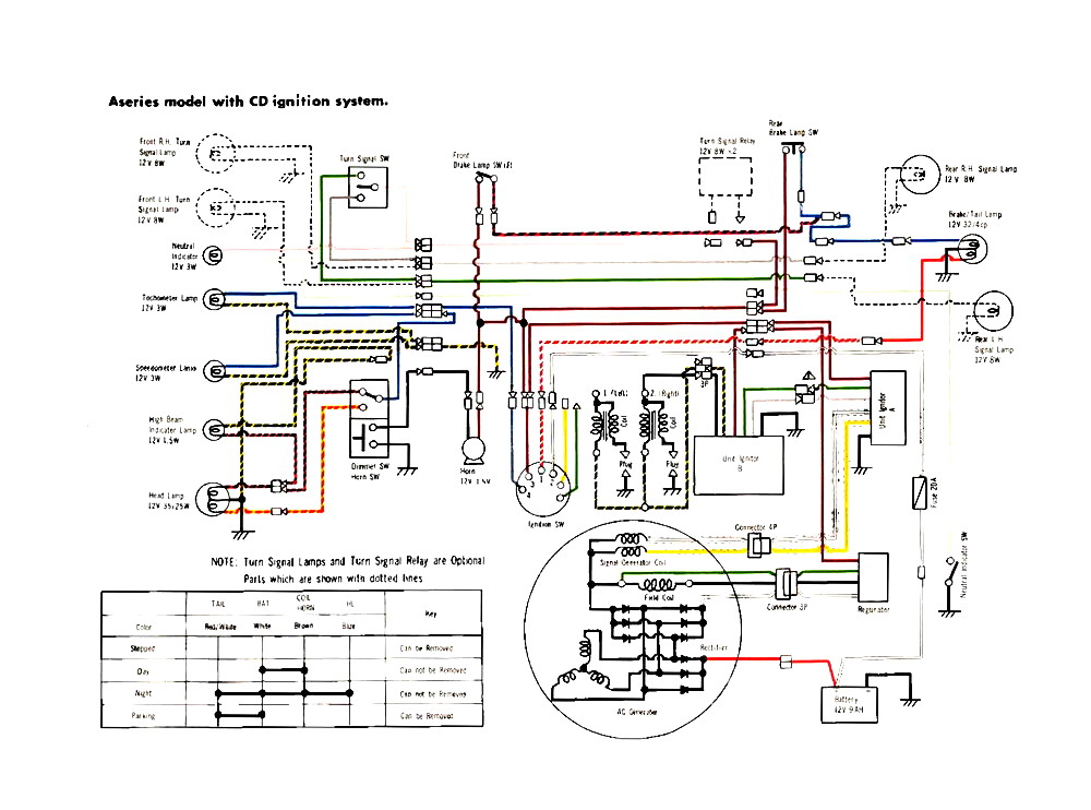 wiring schematic for 79 88 yamaha golf cart cdi box