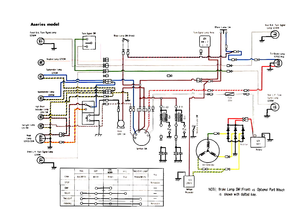 Yamaha Dt Wiring Diagram | Wiring Diagram on